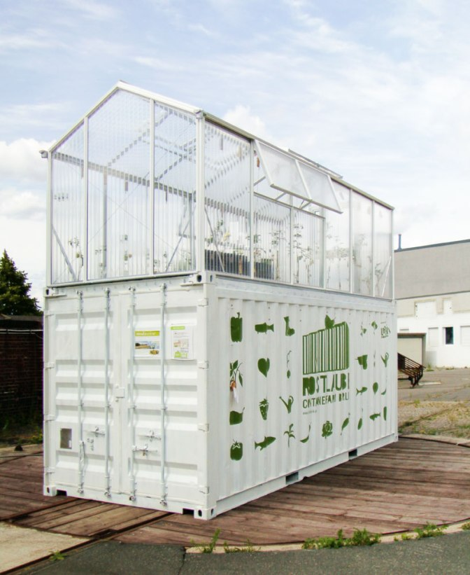 Shipping Container Micro Farm