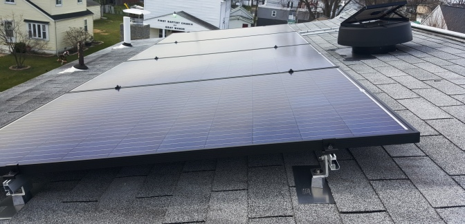Solar power in the suburbs