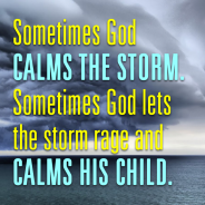 god-calms-child